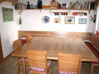 Tisch mit Ansteckplatten:  Esszimmer von PYRA-Designmoebel.de