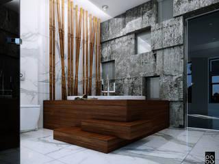 Bamboo зеленая ванная: Ванные комнаты в . Автор – PoSt
