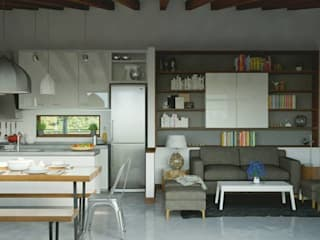 Casa CH-M: Livings de estilo  por ARstudio