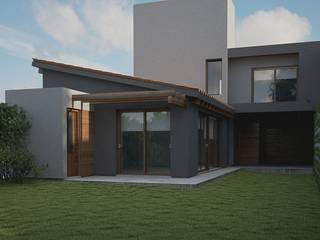 Casa CH-M Casas modernas: Ideas, imágenes y decoración de ARstudio Moderno