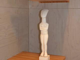 In de hoek: modern  door meubelmakerij mertens, Modern