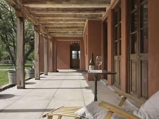 Bórmida & Yanzón arquitectos Couloir, entrée, escaliers rustiques