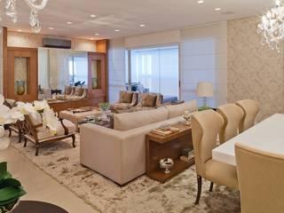 Clássico ao Luxo Salas de estar clássicas por Mariane e Marilda Baptista - Arquitetura & Interiores Clássico