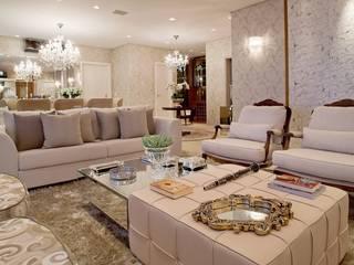 Mariane e Marilda Baptista - Arquitetura & Interiores Living room