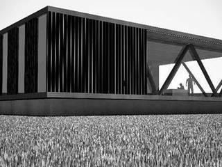 casa IMPLUVIO:  de estilo  por ARstudio