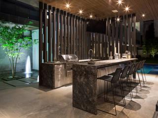ระเบียง, นอกชาน โดย GLR Arquitectos, โมเดิร์น