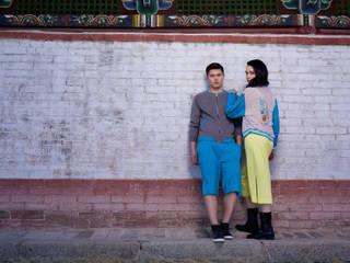 Nomadic Chic cashmere collectie: modern  door Dulaan Cashmere, Modern
