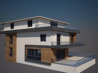 Görgülü Villası CANSEL BOZKURT interior architect Modern Evler