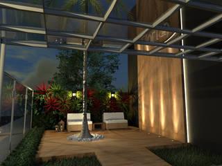 Fachada Salão de Festas Konverto Interiores + Arquitetura Locais de eventos modernos