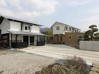 Moderne Häuser von 平林繁・環境建築研究所 Modern