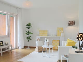 Home Staging  - Geerbte Immobilie - appartamento ereditato:  in stile  di Home Staging Rita Lageder