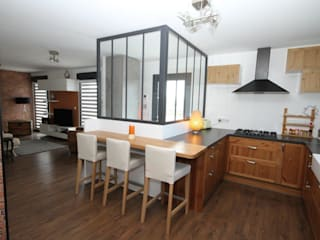 Kitchen by Agence C+design - Claire Bausmayer,