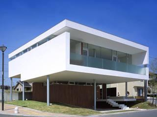 星ヶ峰の住宅 アトリエ環 建築設計事務所 モダンな 家