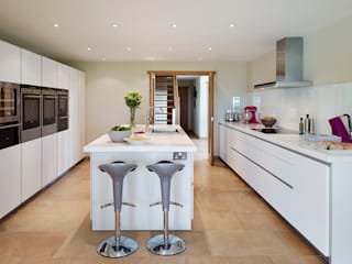Barn Conversion with a bulthaup b1 kitchen:  Kitchen by hobsons choice