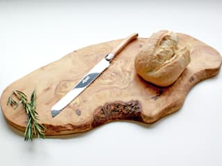 Large Rustic Olive Wood Serving Board:   by The Rustic Dish
