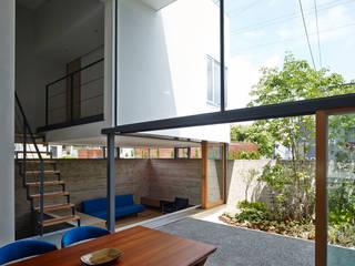 家族の家 モダンな 家 の 小野里信建築アトリエ モダン