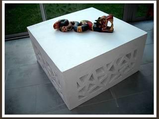 table basse FREEZE par ManalueCarton Éclectique