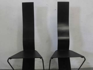 Chaises design style Mackintosh 1980 par mam'zelle a la cote Moderne