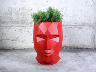 Donice ADAN by Teres Sapey: styl , w kategorii  zaprojektowany przez Hydroponika - Wnętrz i zieleń,