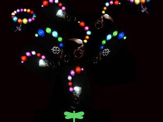 """Schlüsselanhänger """"Miracle"""" und Armband """"All Colours"""":   von AJOLA ® GbR"""