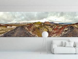 Blick in den Krater des Stutur von DigitalArt Sabine Bieg Ausgefallen