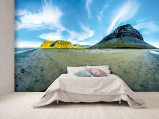 Tafelberge am Arnarfjörður in den Westfjorden:  Kunst  von DigitalArt Sabine Bieg