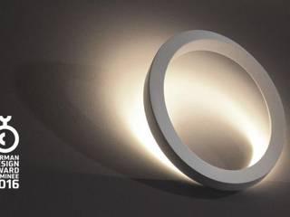 Wand- und Deckenleuchte LEDs TWIST ideenfischa Produktdesign Flur, Diele & TreppenhausBeleuchtungen
