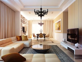 Living room by KAPRANDESIGN
