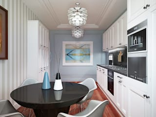 Nigeria II. 2014 Eclectic style kitchen by KAPRANDESIGN Eclectic