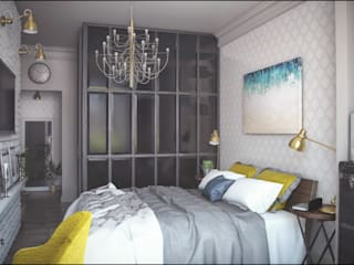 ToTaste.studio Colonial style bedroom
