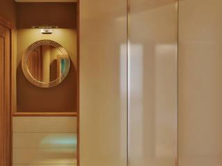 Симуков Святослав частный дизайнер интерьера Ingresso, Corridoio & Scale in stile minimalista Beige