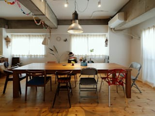 Industrial style dining room by ELD INTERIOR PRODUCTS Industrial