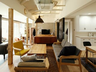 Scandinavian style living room by ELD INTERIOR PRODUCTS Scandinavian