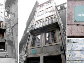 Remodelação: Casas  por B(A)ª Balthazar Aroso arquitectos, Lda,Clássico