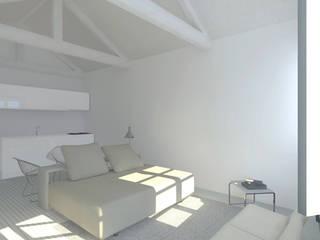 Classic style bedroom by B(A)ª Balthazar Aroso arquitectos, Lda Classic