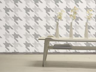 """Black Keys"" Wallcoverings: modern  by Moody Monday, Modern"