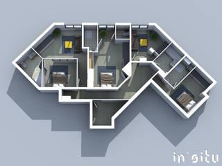 Appartement Mr C ( Travaux en cours ) par In'Situ Moderne