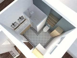 Rénovation et décoration Salle de bain moderne par Agence Ideco Moderne