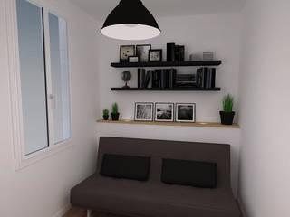 Рабочий кабинет в стиле модерн от Agence Ideco Модерн