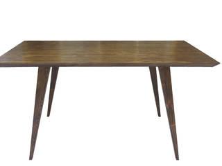 Table / Bureau rétro et écologique par à nouveau -écodesign/upcycling- Scandinave