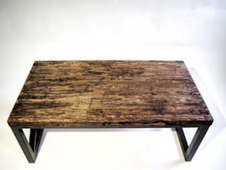 "Vintage coffee table ""RUSTIC"" by NordLoft - Industrial Design Iндустріальний"