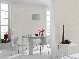 Papel tapiz estilo Industrial-Chic:  de estilo  por DeColor