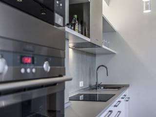 кухня лофт:  в . Автор – студия Дизайн Квадрат