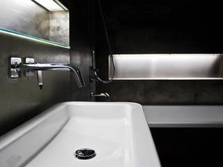ванная лофт:  в . Автор – студия Дизайн Квадрат