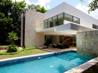 Kolam Renang by Enrique Cabrera Arquitecto
