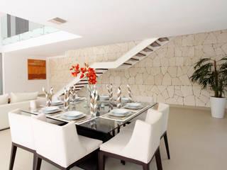 Casa entre Arboles: Comedores de estilo  por Enrique Cabrera Arquitecto