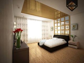 Chambre de style  par Decor&Design, Minimaliste