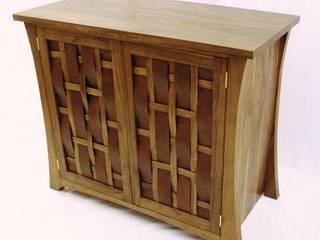 Woven Unit Worsley Woodworking SalonesMuebles de televisión y dispositivos electrónicos
