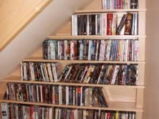 Stair unit Worsley Woodworking Pasillos, vestíbulos y escaleras de estilo moderno
