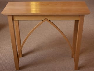 Oak Gothic Arched Table Worsley Woodworking ComedorMesas